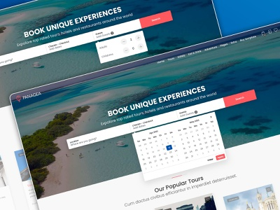 Panagea - Travel and Tours listings template hotels airbnb restaurant travel uiux ux design uidesign tourism listings directory themeforest web design template themes
