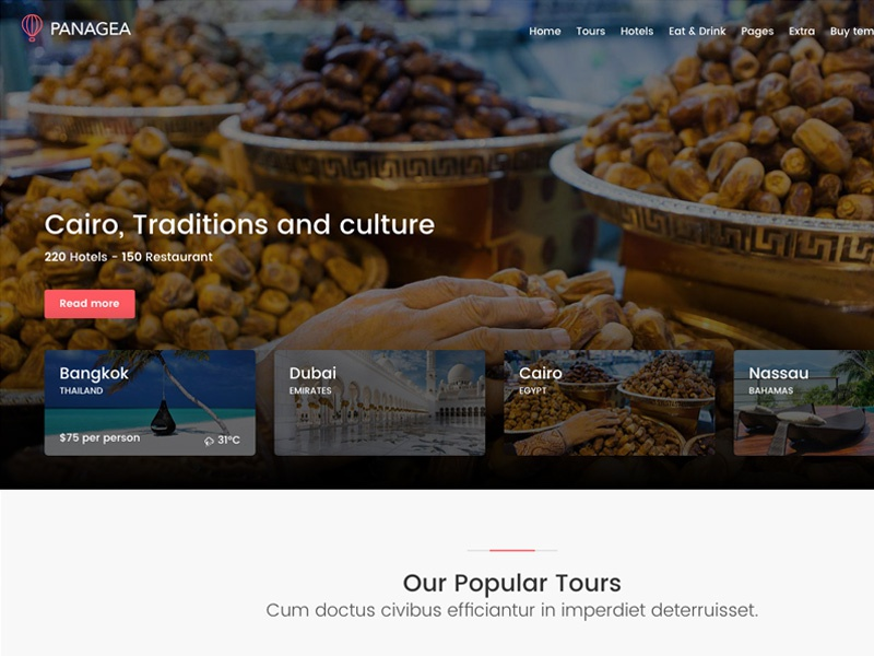 Panagea - Travel and Tours Home Slider tripadvisor travel tours tourism restaurants listings hotels holiday directory booking airbnb