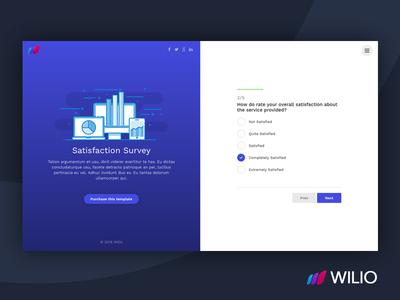 Wilio - Survey and Multipurpose Form Wizard