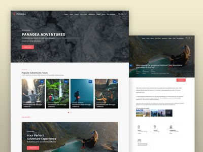 Panagea Adventure Tours template booking airbnb rtl themeforest hotel directory travel adventure