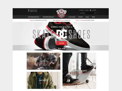 Skate & Snowboard eCommerce Store