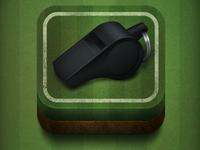 iOS Football App Icon
