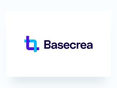 Logo Design: Basecrea logodesign logo design branding logo brand mark logo branding branding design brand identity brand design branding brand logo brand b letter logo b logo logotypedesign logotype logo design logos logo