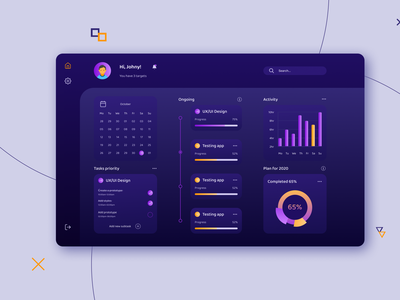 Task Managment App Desktop ui ux to do app task manager task product design design interface dashboard clean calendar app
