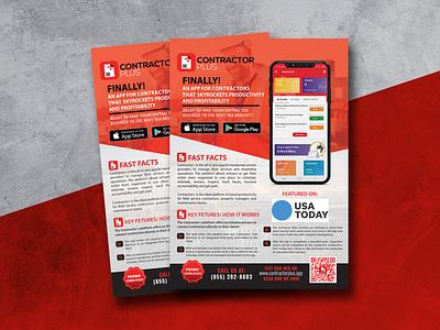 Flyer Design For Mobile App Promotion flyer promotion cellphone app mobile