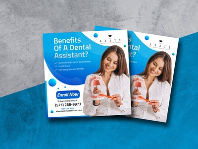 Flyer Design For Dentist Services flyer design instagram facbook social media health dentist medical