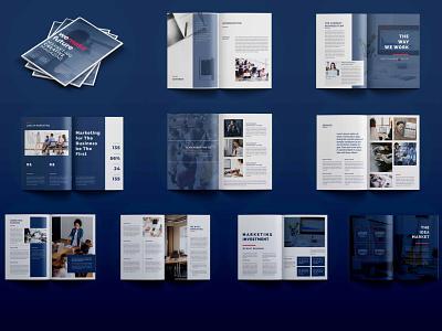 Corporate Compony Profile Brochure multiple pages brochure corporate brochure brochure compony profile