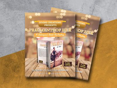 Flyer Desing For Book Launching sociam media flyer design book promotion book launching