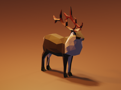 Low-poly modeling art lowpolyart lowpoly artwork digital blender 3d art illustration