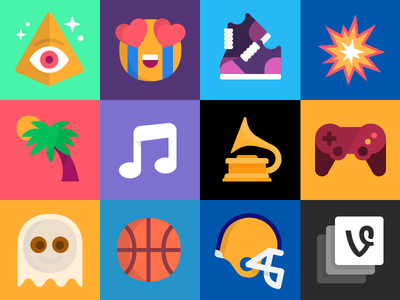 2015 Vine Channels mrdavenport iconography icon channels vine