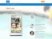 Lyve Website