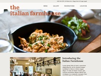 Italian Farmhouse Website