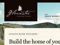 Glennstar Site - logo and nav