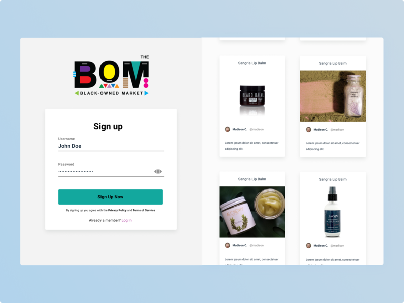 Brand Partner Sign Up Flow prototyping ux cosmetics partner business interaction design challenge animation figma uidesign ui design app