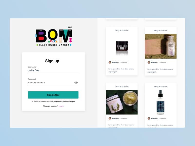 Brand Partner Sign Up Flow prototyping ux cosmetics partner business interaction design challenge animation figma uidesign ui design app