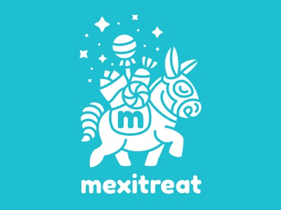 Brand identity for Mexitreat, snack subscription box service. nittygritty mexitreat illustration typography branding art direction slogans advertising packaging artist collaborative clothing e-commerce subscription service candy