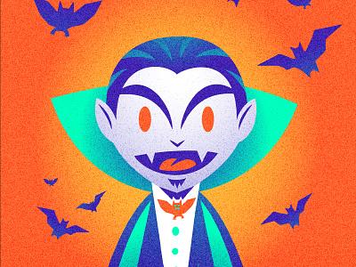 Happy Halloween Vampire illustration nittygritty vampire halloween