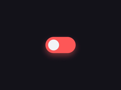 On/Off Switch light figma button dailyui switch icon ux animation design web app ui