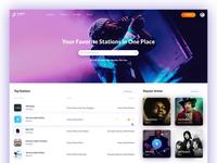Online Radio Website