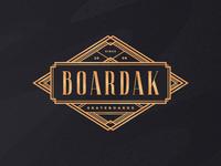 Boardak Skateboards Label