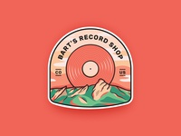 Label for the record shop