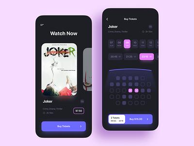 Cinema App order movie mobile app ticket booking cinema app ux ui
