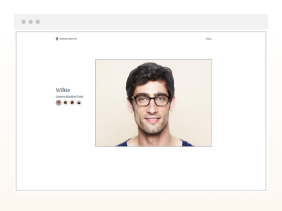 Warby Parker's Virtual Try-On warbyparker vto