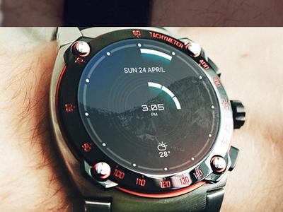 Watch Concept watch ux watch ui moto 360