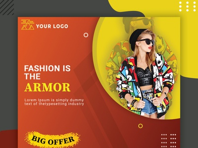 Fashion week social media banner/ web banner branding design fashion brand fashion design photoshop fashion week social media banner web banner graphic art graphics design