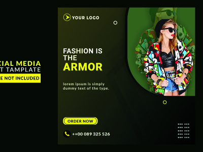 Social media fashion  banner branding design graphic art photoshop branding fashion graphics design fashion banner web banner