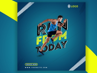 Workout web banner typography shop bannner shop bannner web banner design graphic design graphic art graphics design