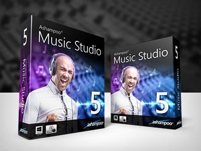 Boxshot Music Studio 5