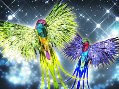 Crystal Birds