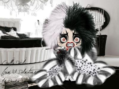 Cruella Devil from 101 Dalmatians
