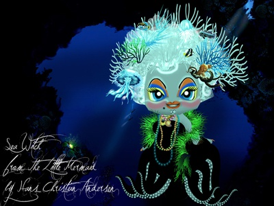 The Little Mermaid´s Sea witch