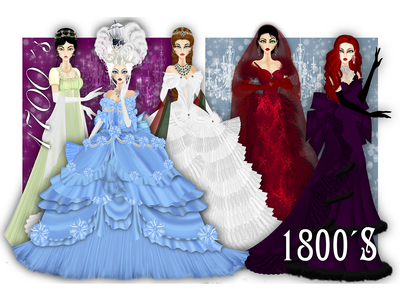 Fashion History 1700´s 1800´s digitalart illustration graphic historical marieantoinette secession history fashion illustration fashion
