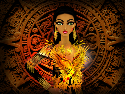 Mexico National Costume Fantasy Mexico City folklore fashionillustration cdmx model fashion illustration mexico