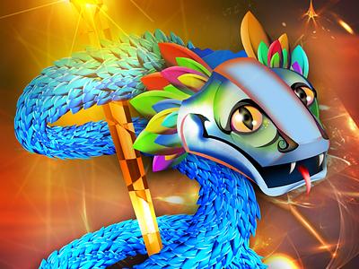 Quetzalcóatl The Feathered Snake Aztec God mexica mithology snake god quetzalcoatl religion mexico
