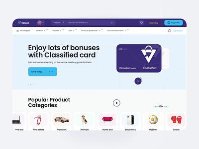 Web Marketplace - SOBAAR search space product white website figma shop app typography web design vector branding logo illustration dashboard animation design 3d ux ui