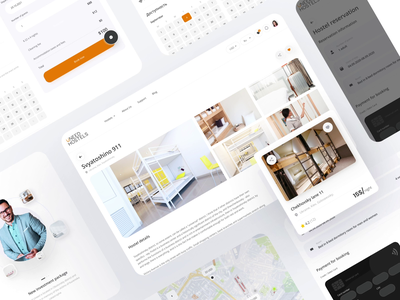 Web App    UNeed  Hostels wallet web booking place map product item button interaction interface vector branding logo illustration dashboard animation design 3d ux ui