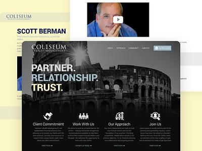 Website Design management app website design website design adobe photoshop