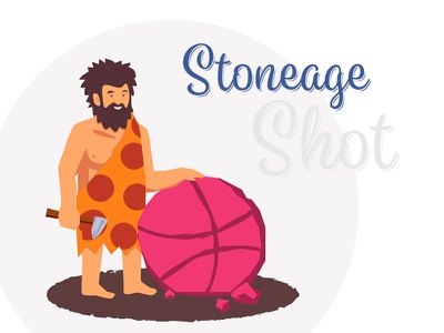 Stoneage stoneage adobe illustrator manipulation shot