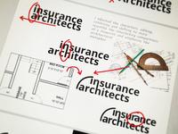 Insurance Architect Logo Process