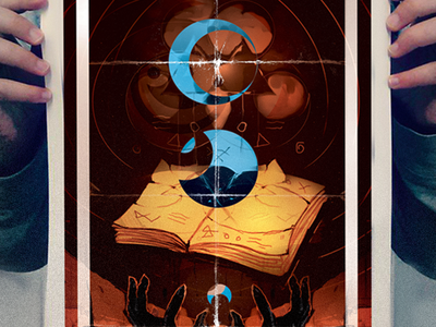 Salvation salvation book magic illustration graphic design digital art