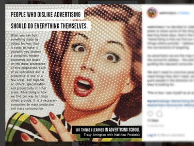 Finding Our Way vintage design madmen admen ethicaladvertising consumer advertisers targeting advertising graphicdesign