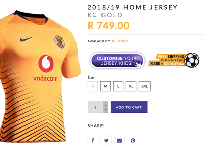 Kaizer Chiefs DigiStore creativedirection ui ux design photoshop digistore online store kaizerchiefs