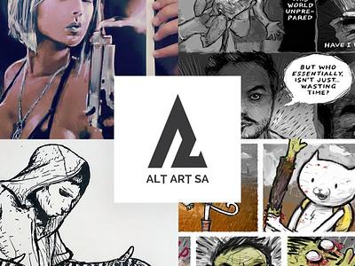 Alt-Art-SA digitalart art design drawing photoshop illustration