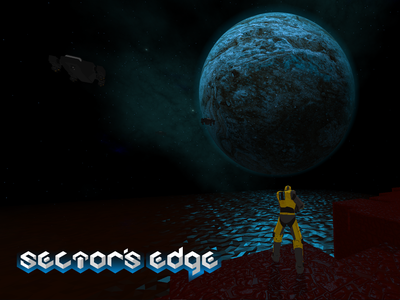 Sector's Edge - Gallery game art low poly planet galaxy space voxel vercidium vector soldier sectors edge opengl logo inkscape shooter game futuristic fps branding