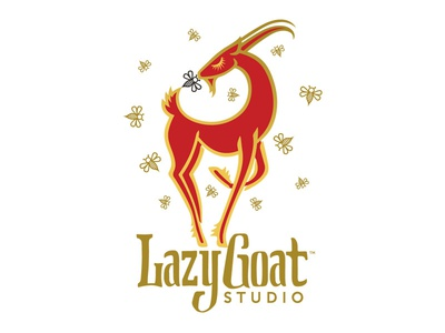 Branding :: Lazy Goat Studio :: Honey & Products
