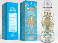 Jvoov® Fish Collagen Bottle & Box Design